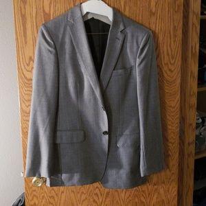 2 piece banana republic suit